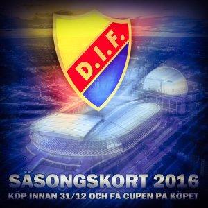 DIF SÄSONGSKORT 2016