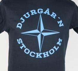 T-Shirt Djurgårn Stockholm Navy