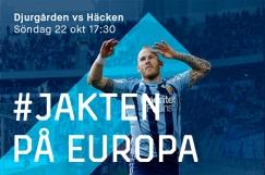 170916 Djurgårdens Magnus Eriksson jublar efter 3-1 under fotbollsmatchen i Allsvenskan mellan Djurgården och Örebro den 16 September 2017 i Stockholm. Foto: Kenta Jönsson / BILDBYRÅN / Cop 210