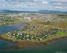 Arnarnes - Garðabær með Kópavogur í baksýni, loftmynd Arnarnes - part of Garðabær.viewing eaqst towards Kopavogur, aerial.